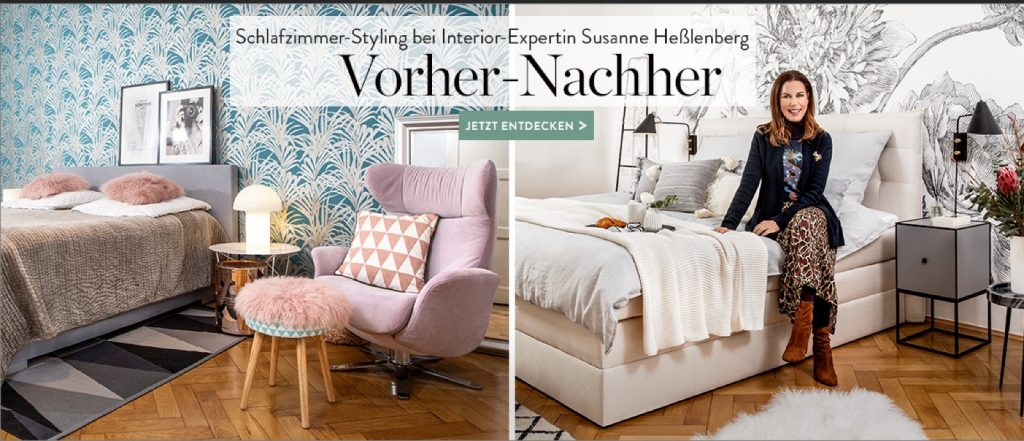 Bedroom Story Umstyling Schlafzimmer